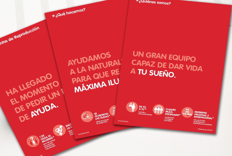 Maquetación y diseño gráfico de folletos corporativos